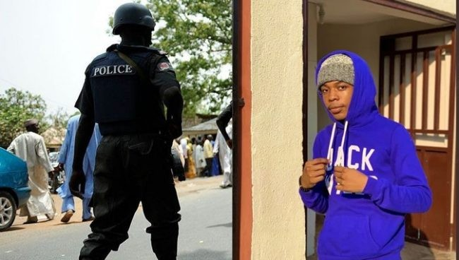 Police Officer detained for extortion - News and Gist Blog in Nigeria