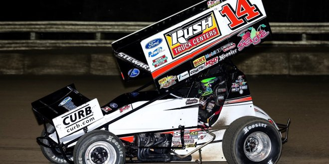 Bubba Raceway Park >> Tony Stewart Dominates Final Night Of All Star Action At Bubba