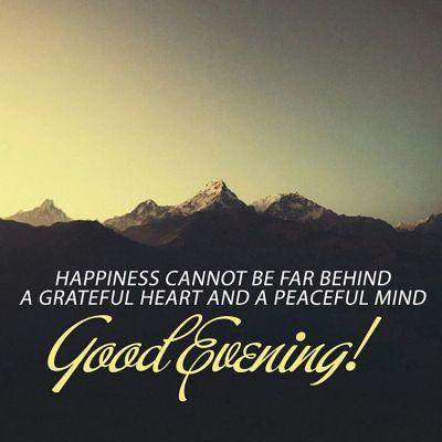 Good Evening Quote