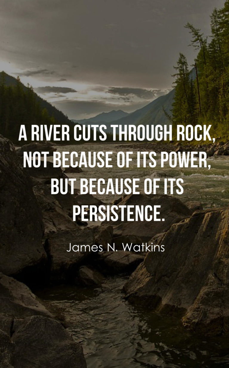 Life Like River Quote : river, quote, Inspirational, River, Quotes, Sayings