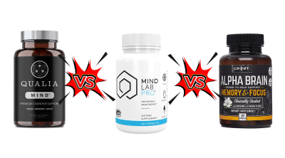 Qualia Mind vs Alpha Brain vs Mind Lab Pro Review