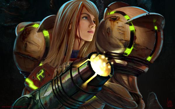 Samus Aran de Metroid iria ser um homem