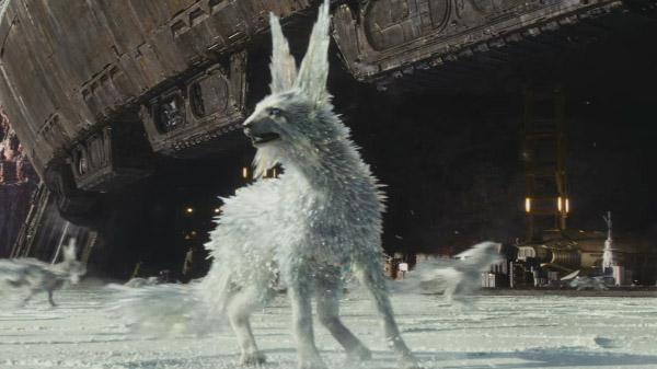 Vulptex, as raposas de cristal de Star Wars: Os Últimos Jedi