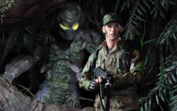 figura de ação de Hawkins de O Predador