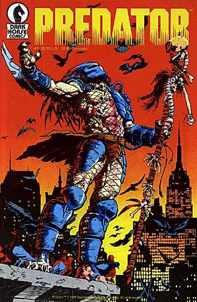 Capa de Predator: Concrete Jungle (1989)