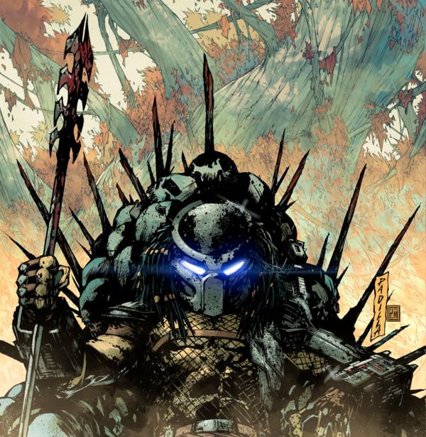 Capa de Predator: Hunters II #2 - Arte de Augustin Padilla