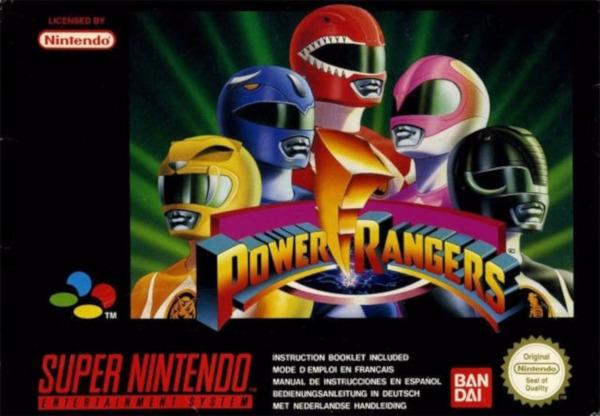 Mighty Morphin Power Rangers (SNES)