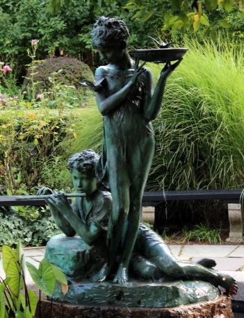 Central Park Fall - Conservatory Garden