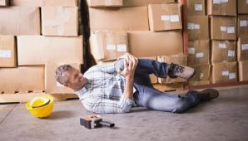 Forklift accidents can cause serious injuries for warehouse workers