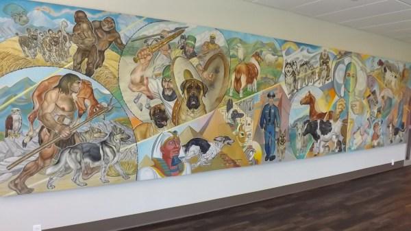 Hospital Murals History