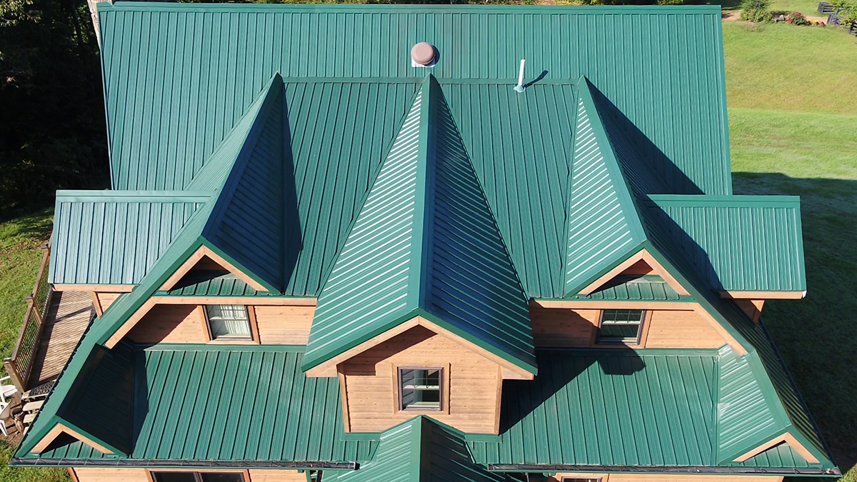 Standing Seam Metal Roof Texture Horizon-loc - Central States Mfg, Inc.