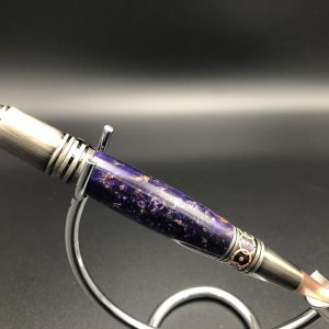 midnight purple alumilite pen