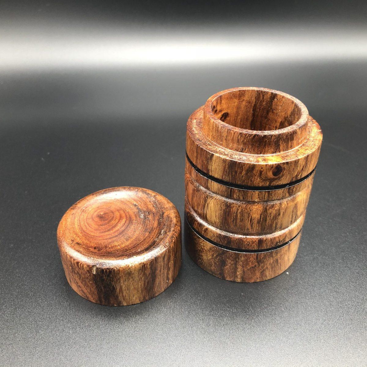 honey mesquite custom wood box