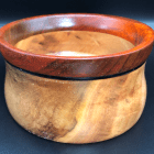 Coolibah w padauk wooden bowl