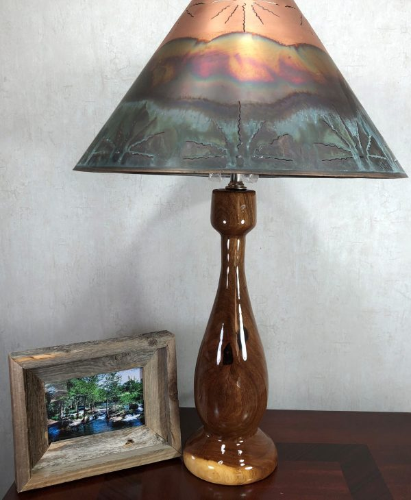 mesquite table lamp