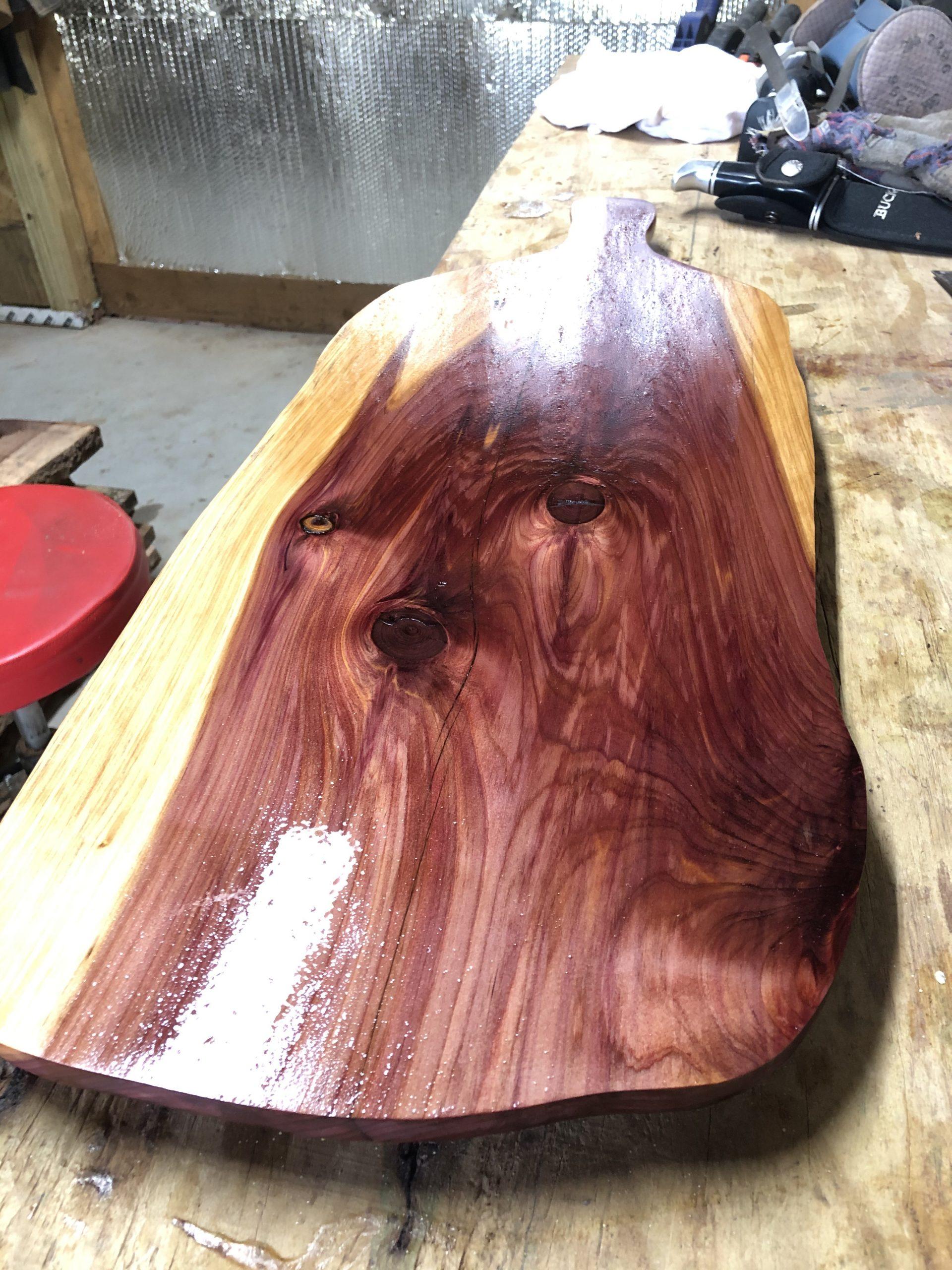 Cedar Charcuterie Board