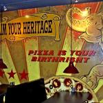Home Slice Pizza Mural