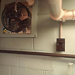 Exhaust Fan Kitchen Country Cabinets New Fans Central United Methodist Church Beaver Falls Installed Over The Sinks
