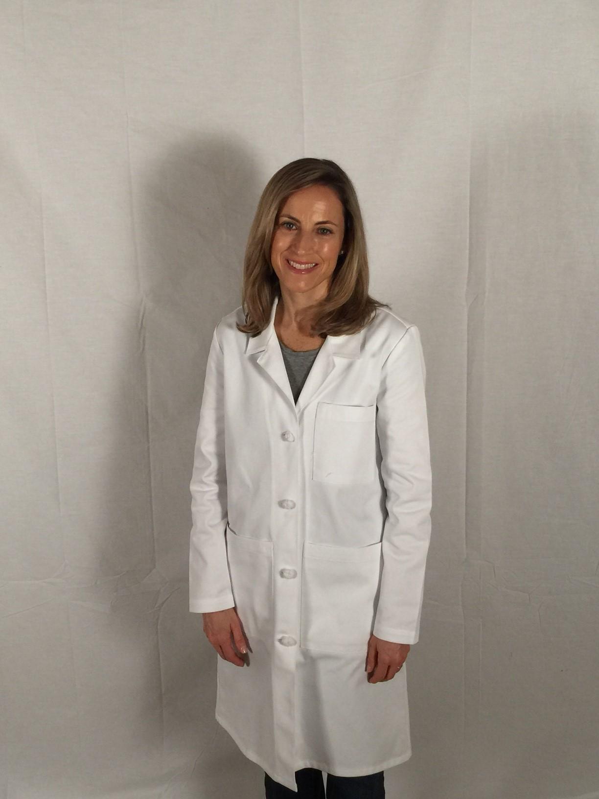 Women S 100 Cotton Signature Lab Coat Central Uniforms