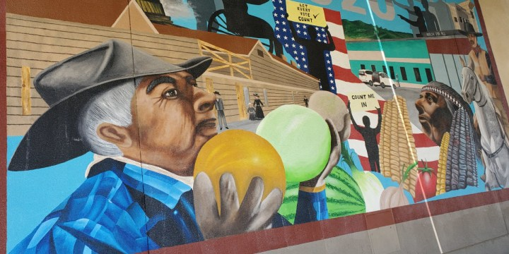 Unveiling of Census Mural in Huron