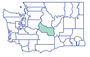 Kittitas County Map