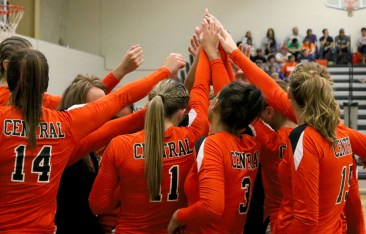 Rustlers get ready for their first home game. Photo by: Tina Arellano