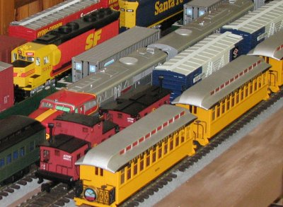 Also on display will be a new 24'x48' G Scale modular layout.
