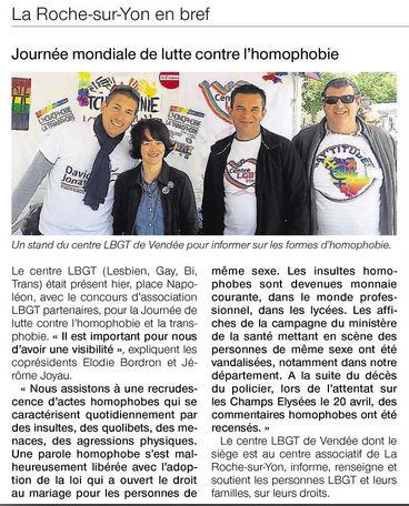 Ouest France Dimanche 21-05-17
