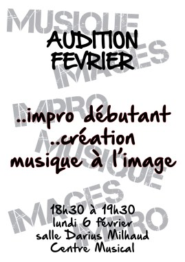 Auditions Février 2