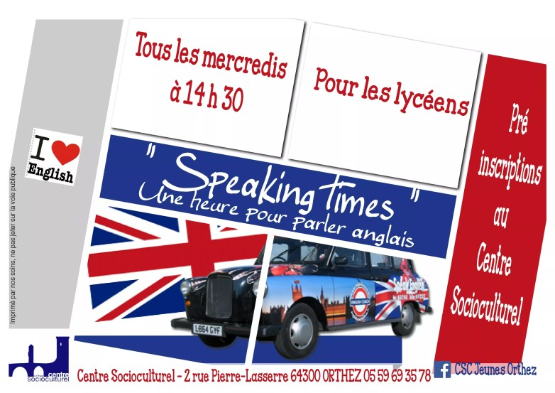 Speaking Times CSC