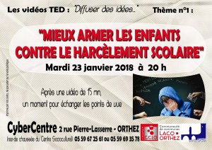 TEDx 1 - harcèlement scolaire