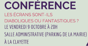 Read more about the article Conférence Vendredi 9 octobre 2020