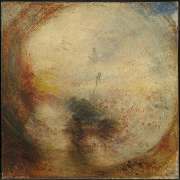 Light and Colour (Goethe's Theory) - the Morning after the Deluge - Moses Writing the Book of Genesis exhibited 1843 Joseph Mallord William Turner 1775-1851 Accepted by the nation as part of the Turner Bequest 1856 http://www.tate.org.uk/art/work/N00532