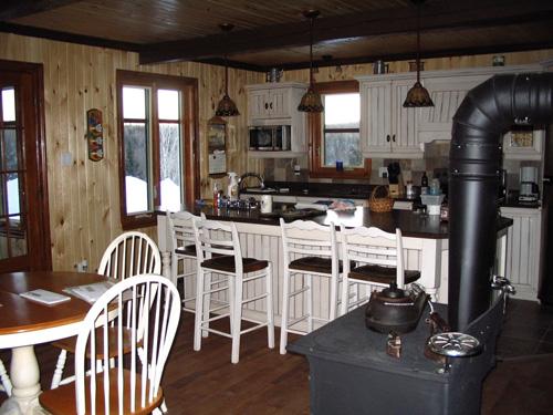 armoire de cuisine nordique