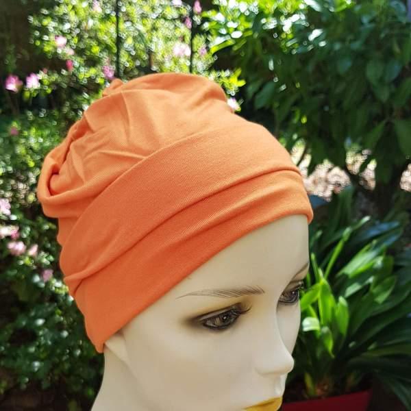 MOL2 Molene Orange - Bonnet chimio Joceli
