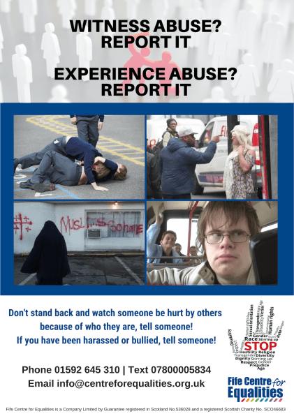 FCE Hate Crime Poster