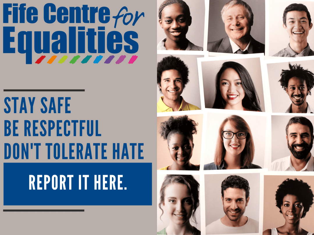 Hate Incidents Report graphic - home page