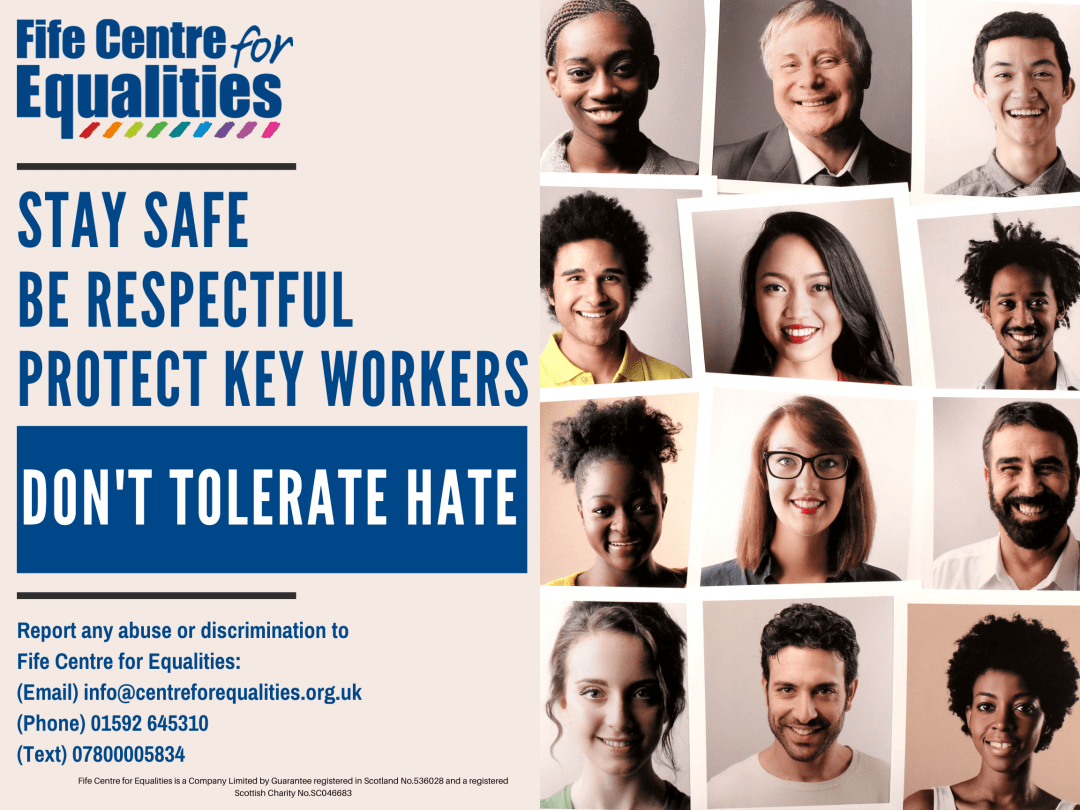 report hate incidents poster APR 2020