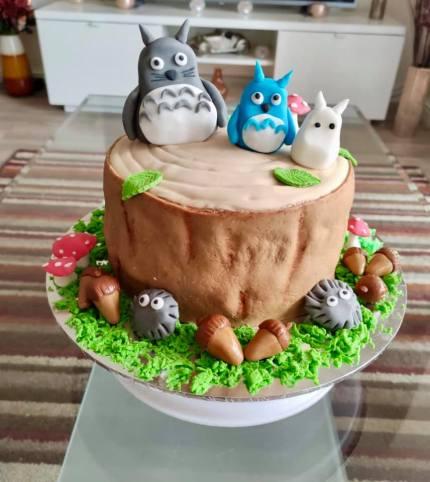 Asma Aamir - Totoro Anime Cake