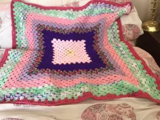 Kerry Black - Crochet Blanket