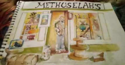 Yvonne Gilfillan - Methuselah's Painting
