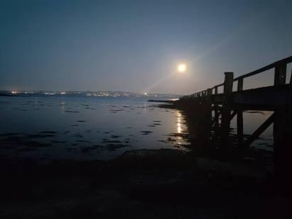 Denise Aitken - Culross Pier Sunset