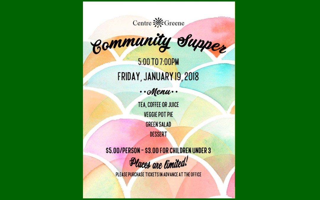 Community Supper