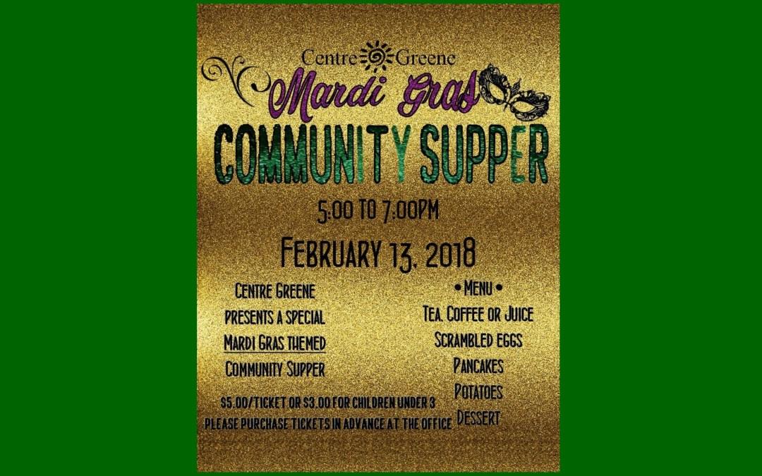 Community Supper