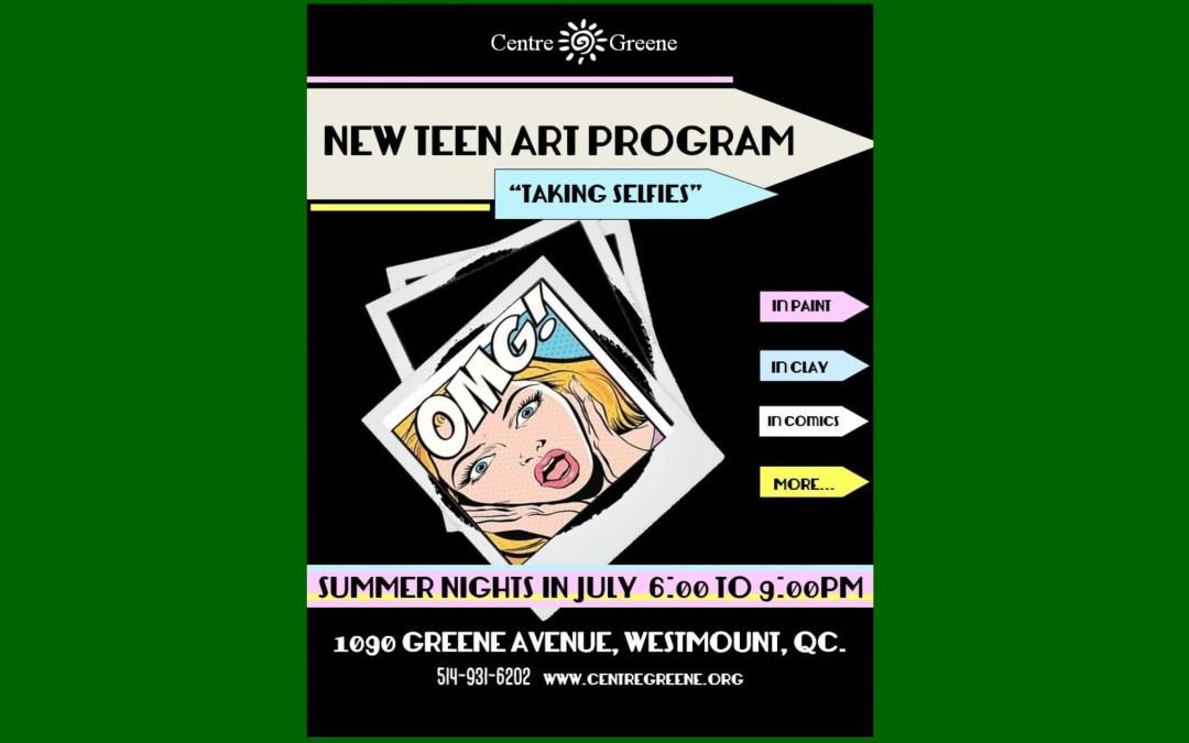 New Teen Art Program