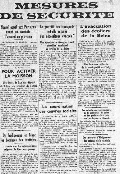 1939 La France Entre En Guerre : france, entre, guerre, Septembre, France, Déclare, Guerre, L'Allemagne,, Va-t-on, Faire, Enfants