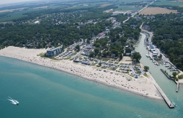 Grand Bend. Photo by Grafiks Marketing & Communications & Tourism Sarnia-Lambton via Facebook.
