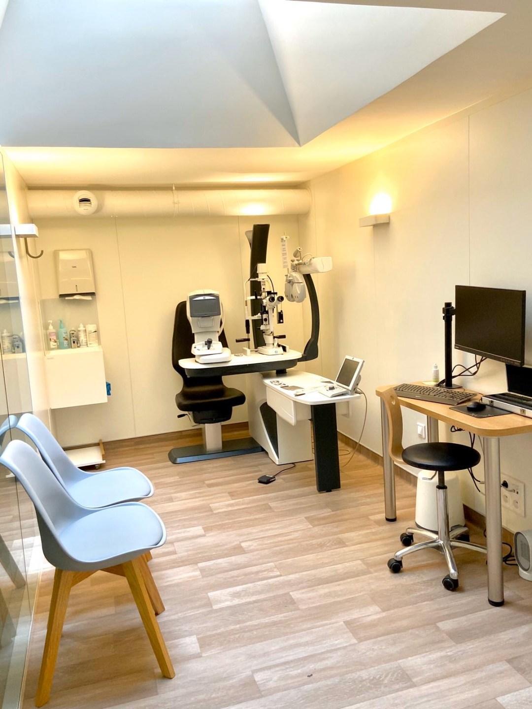 Centre Ophtalmologique Paris 17 SOS Oeil- Salle de consultation