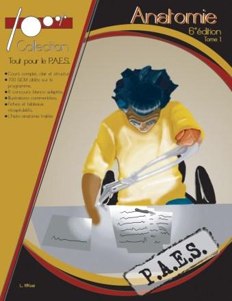 100% anatomie, ouvrage destiné aux étudiants de première année de médecine du Dr Ludovic N'Kosi, ophtalmologiste au Centre Ophtalmologique Paris 17 - SOS Oeil