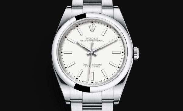Rolex Oyster Perpetual 39 mm White